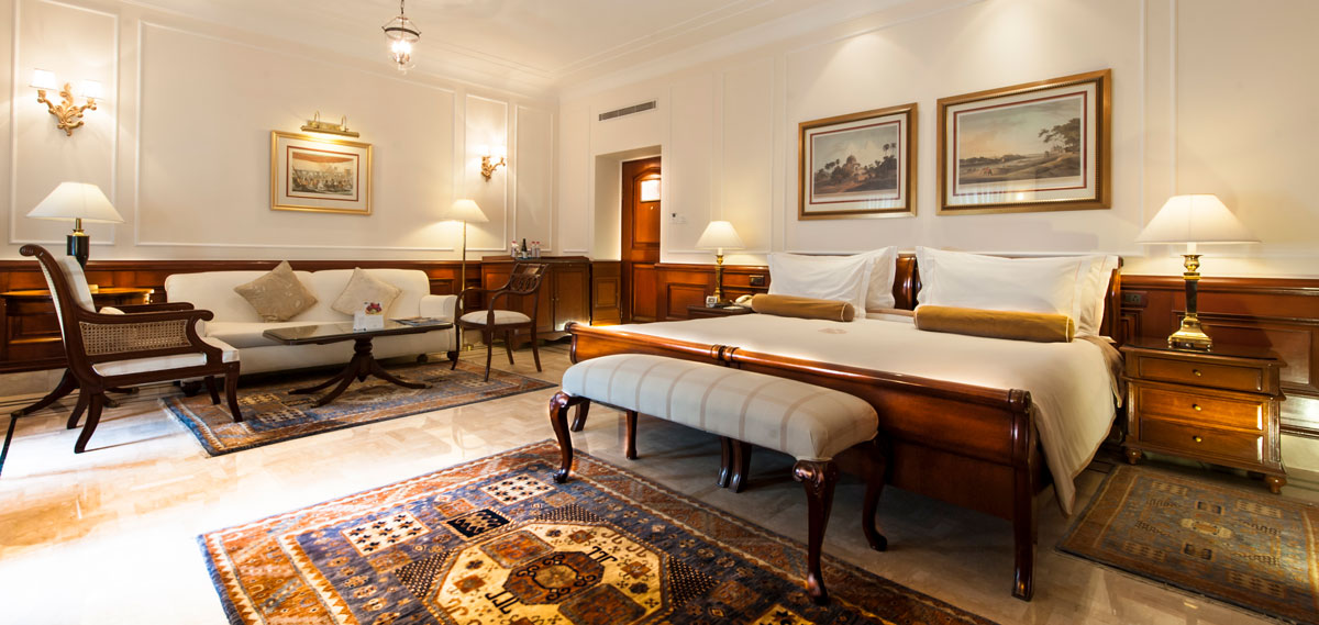 Accommodations:      The Imperial New Delhi  in New Delhi