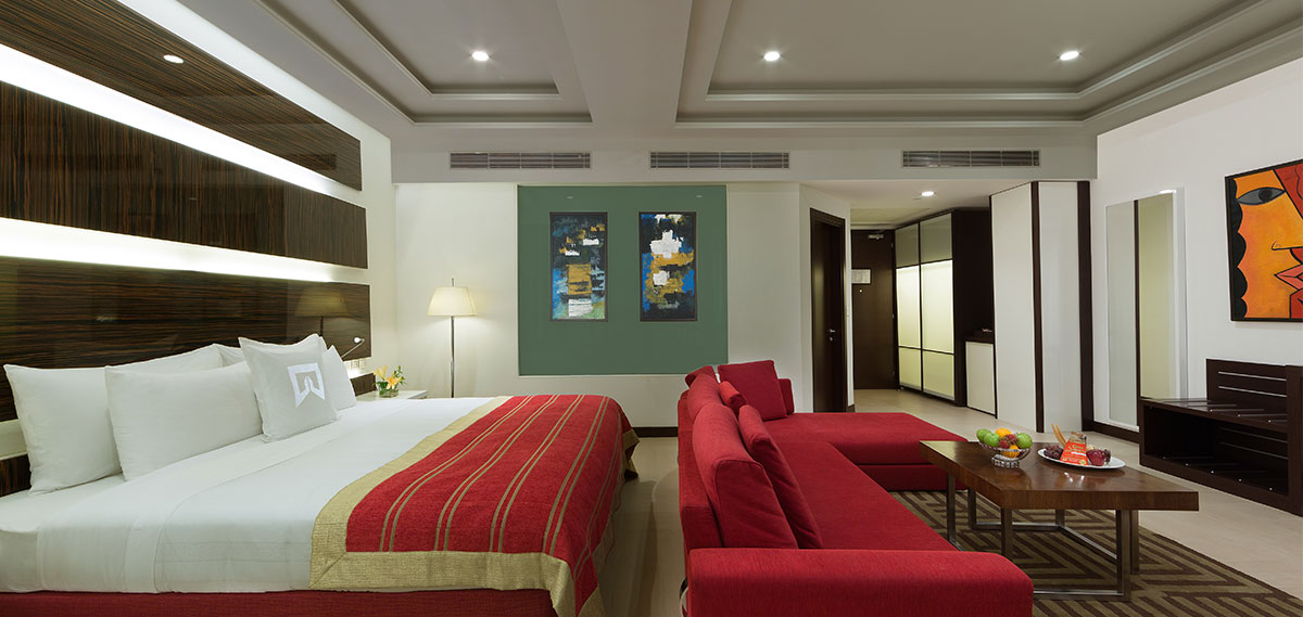 Accommodations:      WelcomHotel Dwarka, New Delhi  in New Delhi