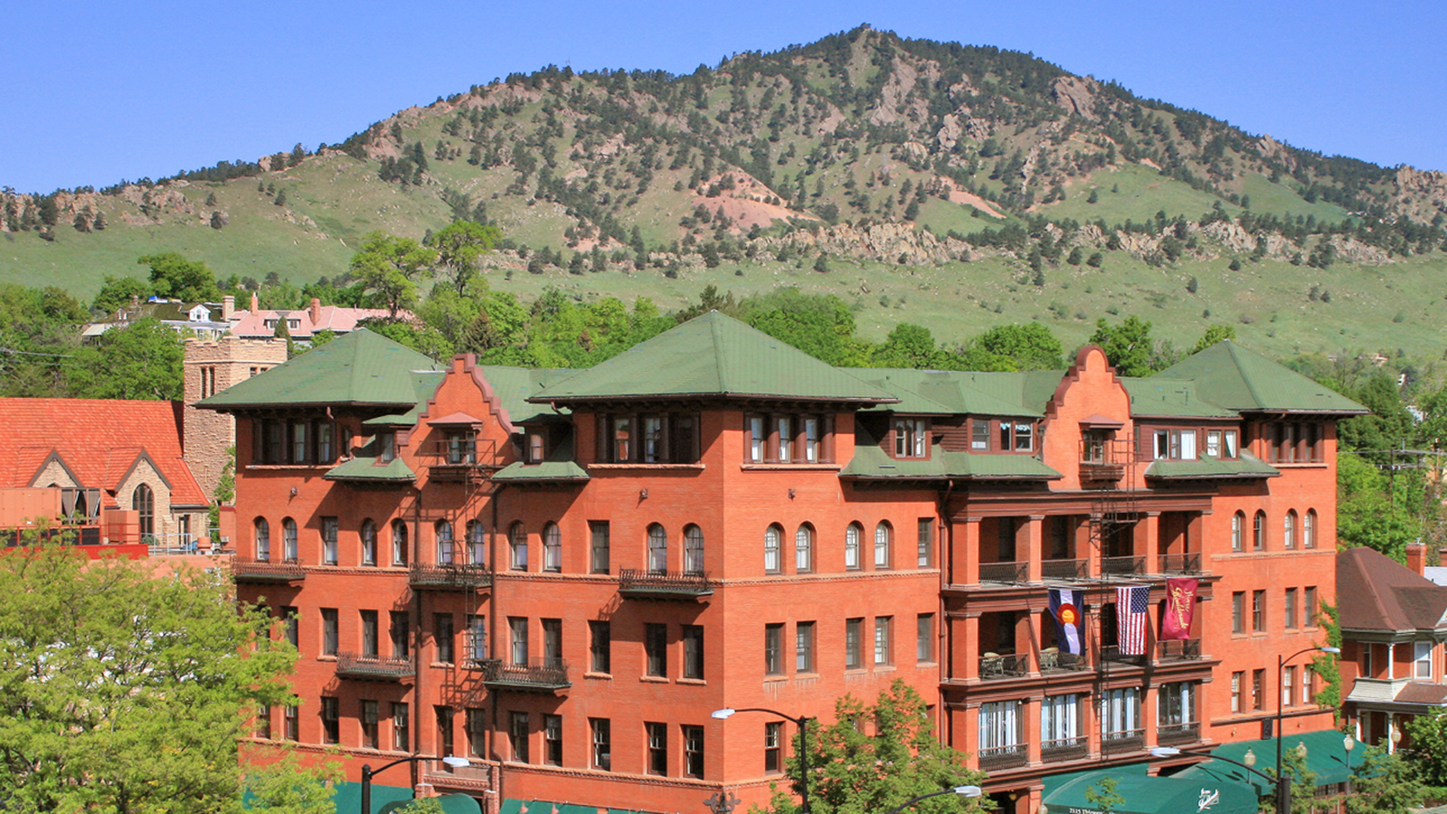 Image of Hotel Exterior, Hotel Boulderado in Boulder, Colorado, 1909, Member of Historic Hotels of America, Overview