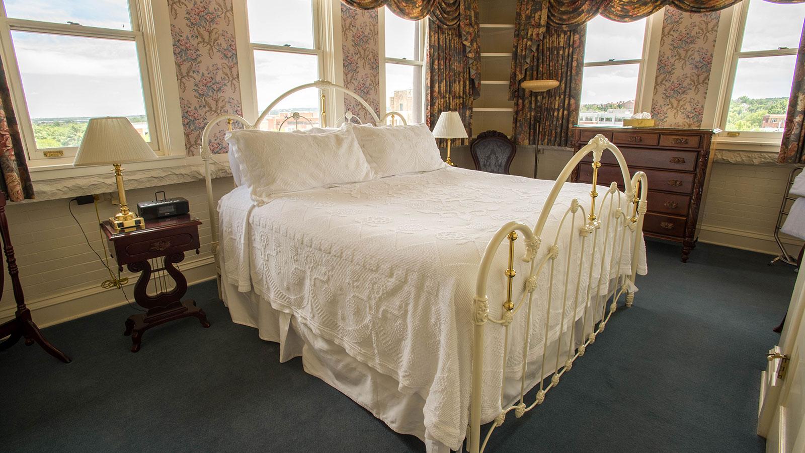 Image of Guestroom Interior, Hotel Boulderado in Boulder, Colorado, 1909, Member of Historic Hotels of America, Accommodations
