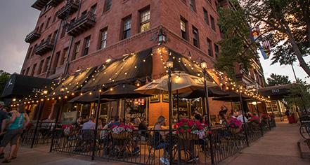 Dining at      Hotel Boulderado  in Boulder