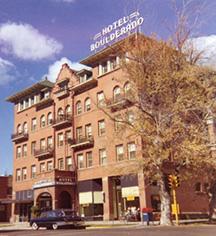 History:      Hotel Boulderado  in Boulder