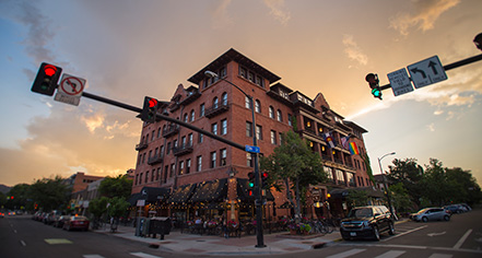 Local Attractions:      Hotel Boulderado  in Boulder