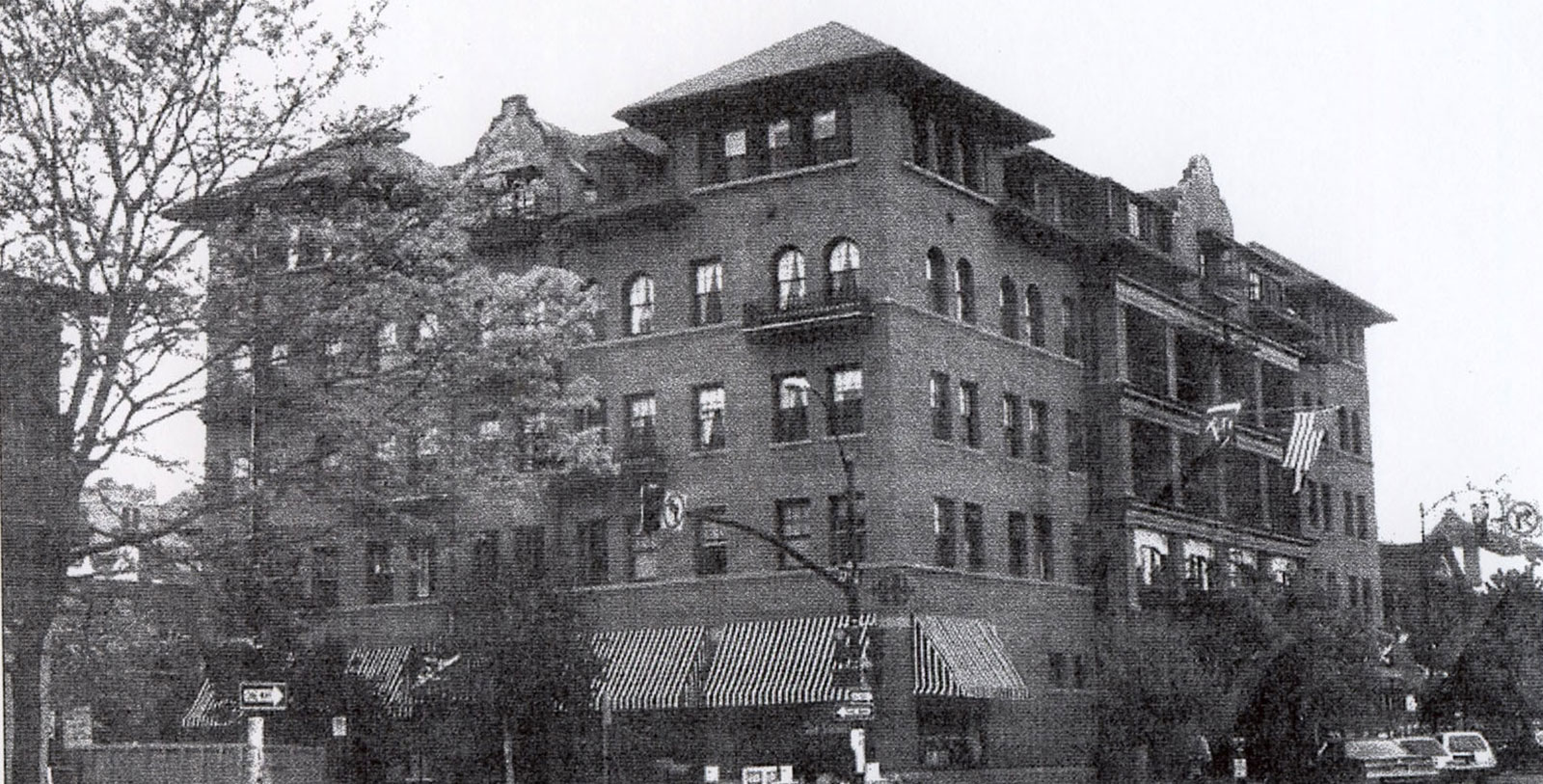 Image of Historic Hotel Exterior, Hotel Boulderado in Boulder, Colorado, 1909, Member of Historic Hotels of America, Discover