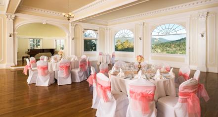 Weddings:      The Stanley  in Estes Park