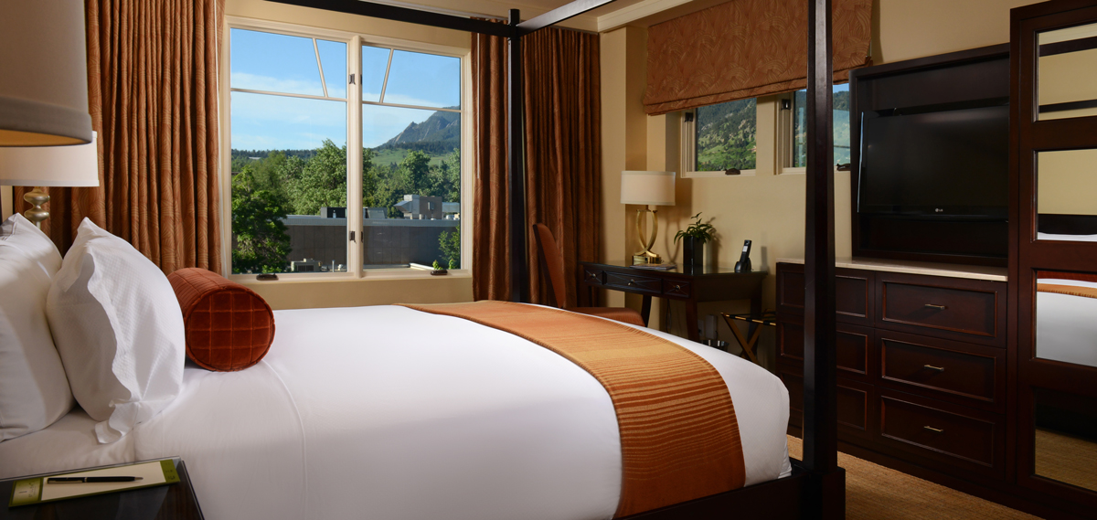 Accommodations:      St Julien Hotel & Spa  in Boulder