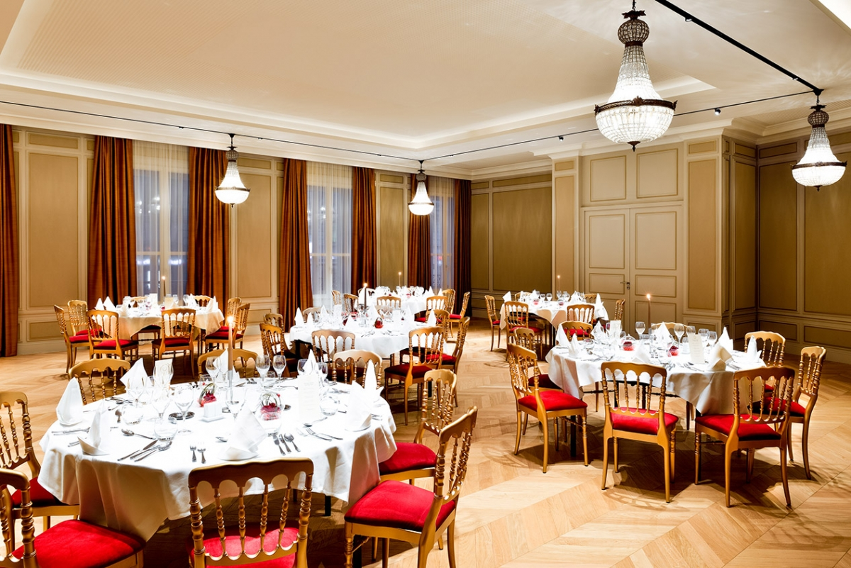 Image of Napoleon III Grand Room, Grand Hôtel La Cloche Dijon - MGallery by Sofitel, Dijon, France, 1884, Member of Historic Hotels Worldwide, Request For Proposal