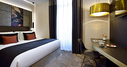 Accommodations:      Grand Hôtel La Cloche Dijon - MGallery by Sofitel  in Dijon