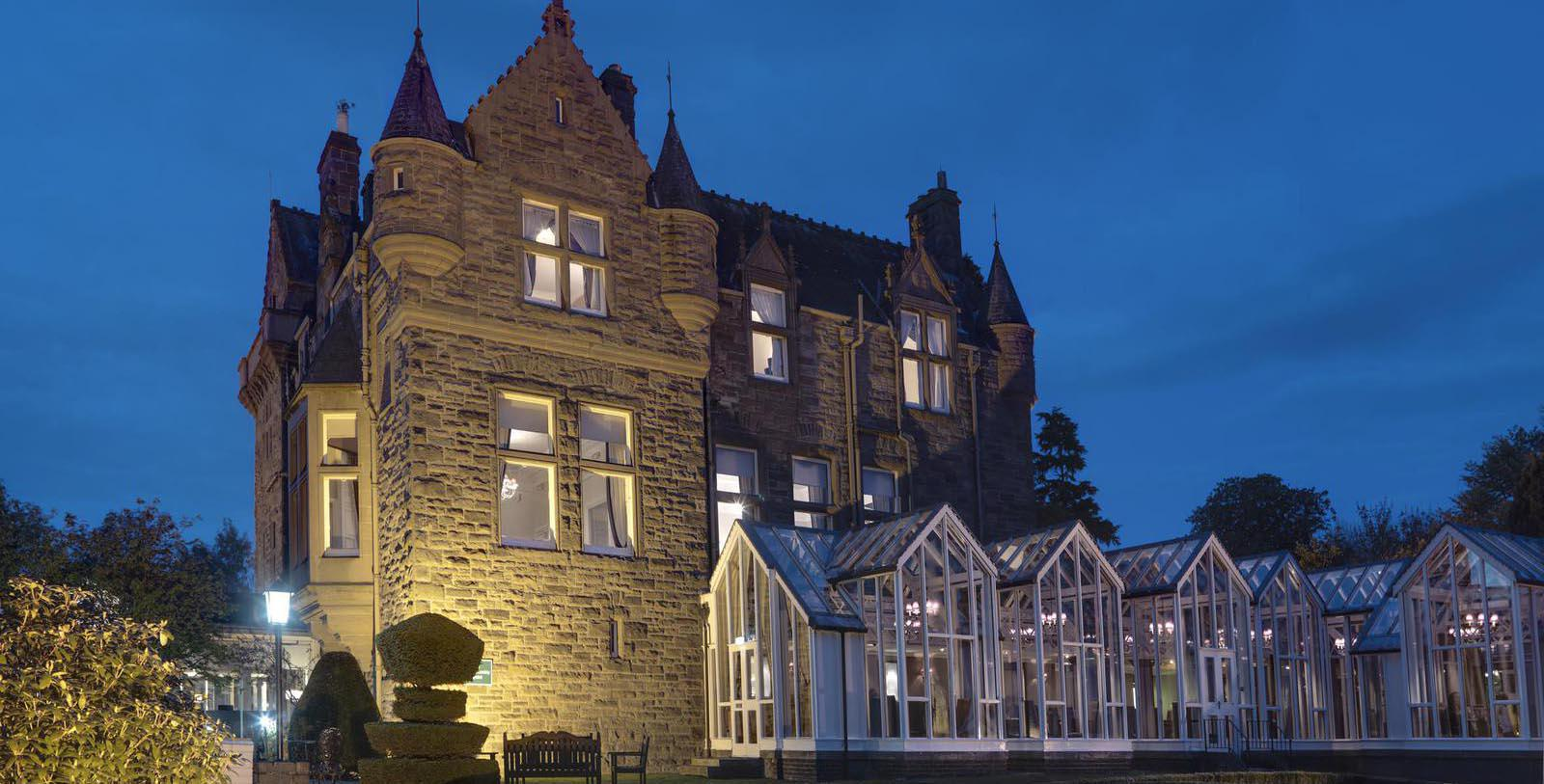 Image of hotel exterior DoubleTree by Hilton Dundee, 1870, Member of Historic Hotels Worldwide, in Dundee, Scotland, Special Offers, Discounted Rates, Families, Romantic Escape, Honeymoons, Anniversaries, Reunions