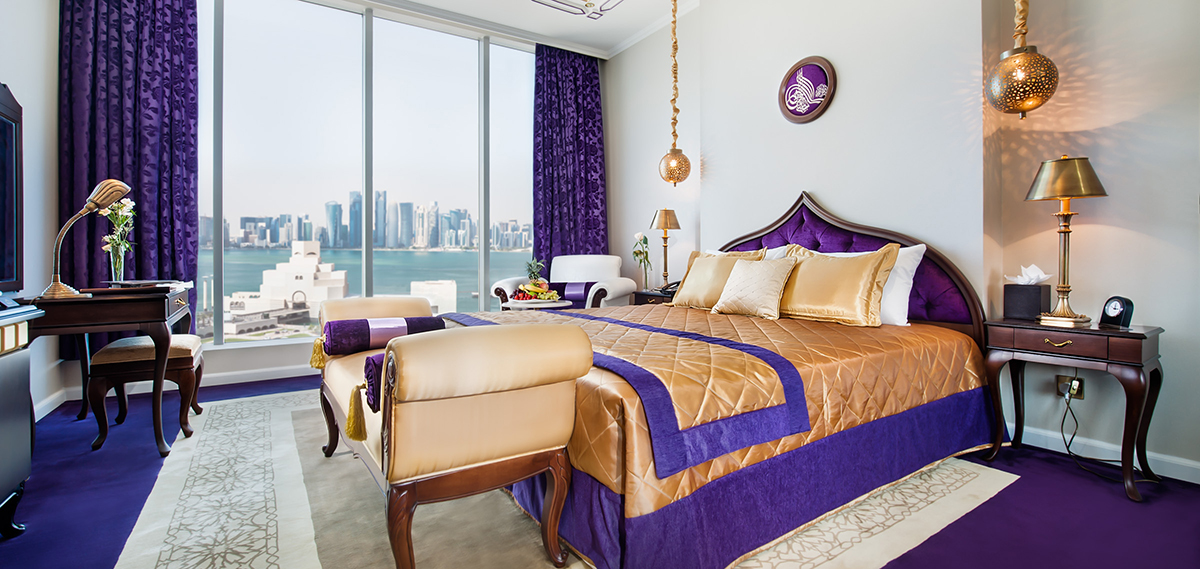 Accommodations:      Saraya Corniche Hotel  in Doha