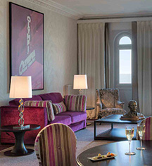 Accommodations:      Le Grand Hôtel Cabourg - MGallery by Sofitel  in Cabourg