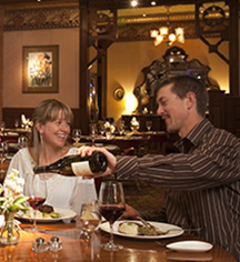 Dining at      The Strater Hotel  in Durango
