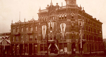 History The Strater Hotel In Durango