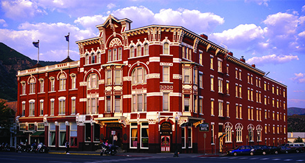 The Strater Hotel in Durango