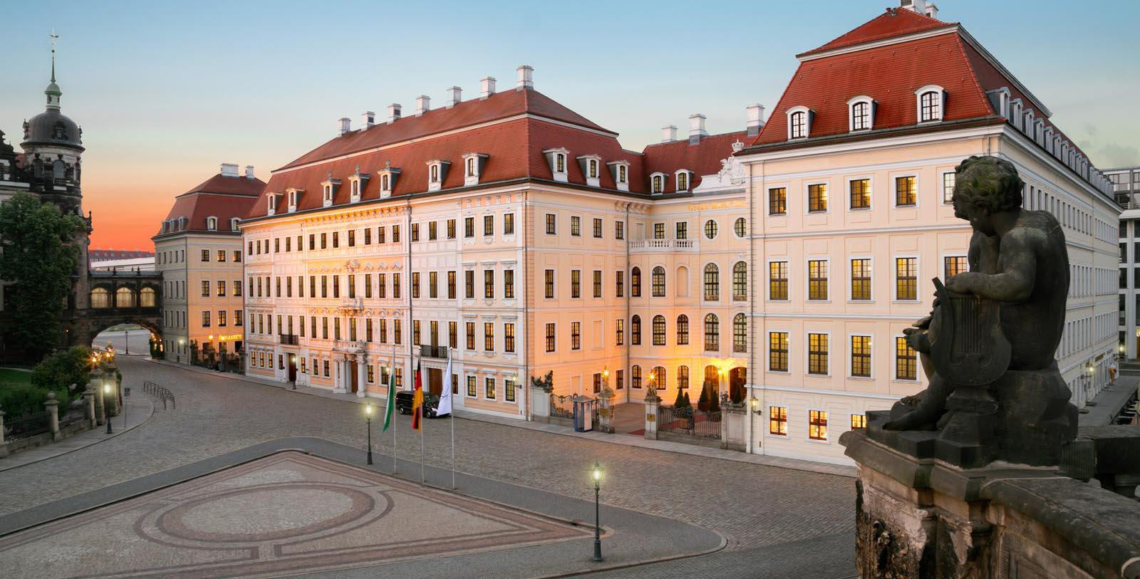 Image of Exterior, Hotel Taschenbergpalais Kempinski Dresden, Germany, 1700s, Member of Historic Hotels Worldwide, Special Offers, Discounted Rates, Families, Romantic Escape, Honeymoons, Anniversaries, Reunions