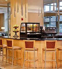 Dining at      DoubleTree Suites by Hilton Hotel Detroit Downtown - Fort Shelby  in Detroit