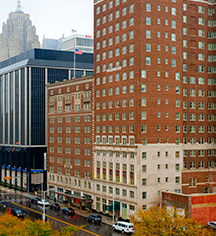 Local Attractions:      DoubleTree Suites by Hilton Hotel Detroit Downtown - Fort Shelby  in Detroit