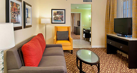 DoubleTree Suites by Hilton Hotel Detroit Downtown - Fort Shelby  in Detroit
