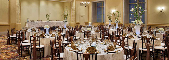 Weddings:      DoubleTree Suites by Hilton Hotel Detroit Downtown - Fort Shelby  in Detroit