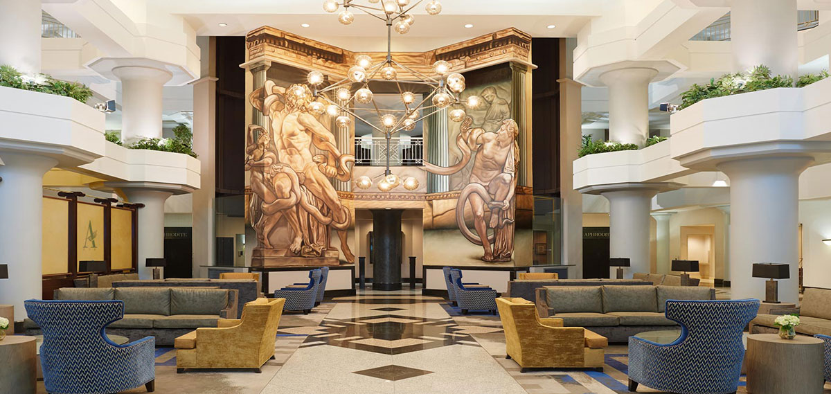 Atheneum Suite Hotel Detroit Michigan Lobby