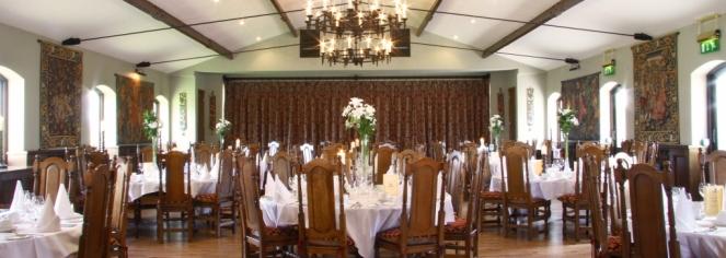 Dining at      Barberstown Castle  in Straffan
