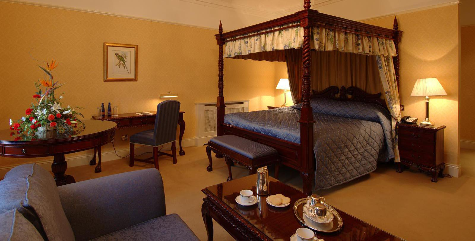 Image of guestroom Barberstown Castle, 1288, Member of Historic Hotels Worldwide, in Straffan, Ireland, Location Map
