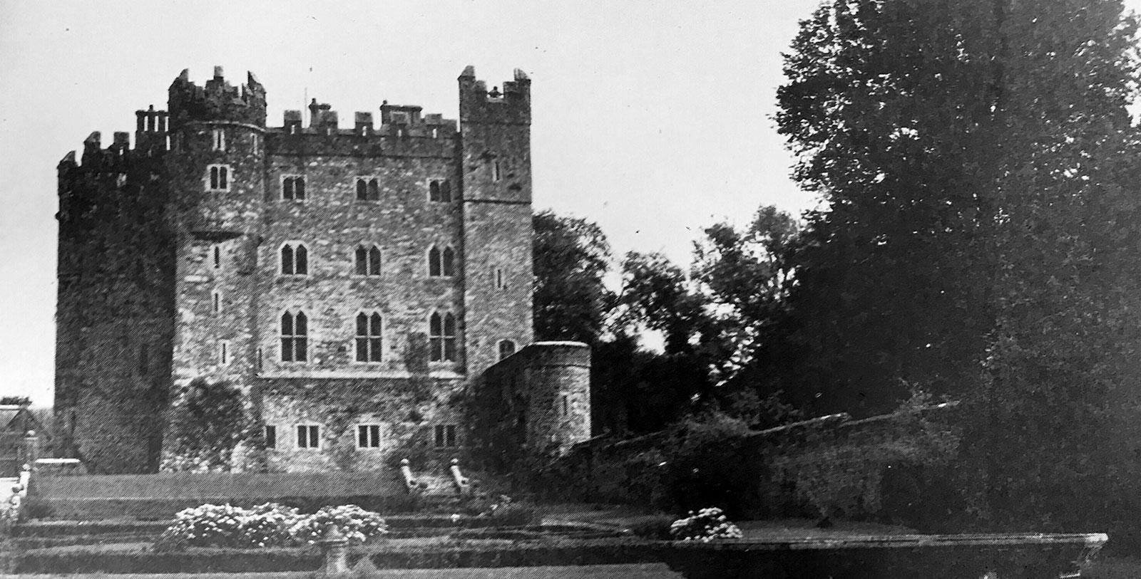 Historical Image of Castle Garden Kilkea Castle Estate and Golf Club Castledermont County Kildare Ireland, History