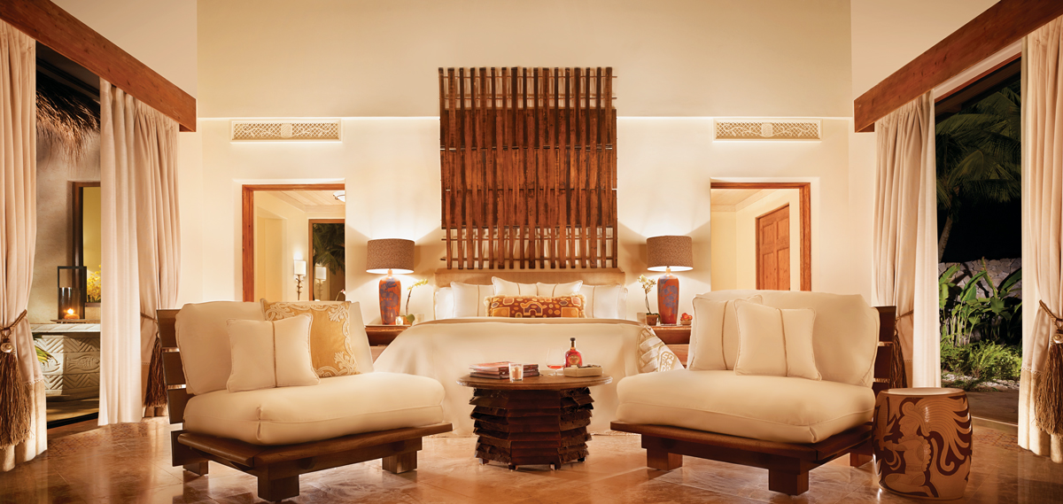 Luxury Room Accommodations in the Mukul Beach, Golf & Spa Resort