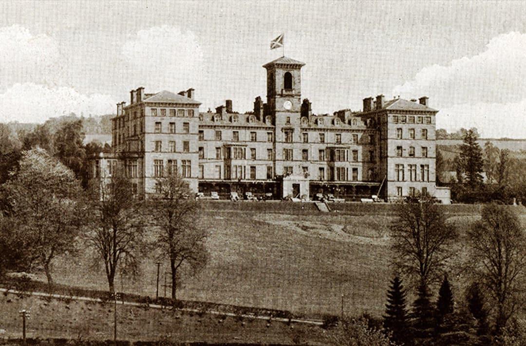 Image of Historic Exterior, DoubleTree by Hilton Hotel Dunblane Hydro, England United Kingdom, History