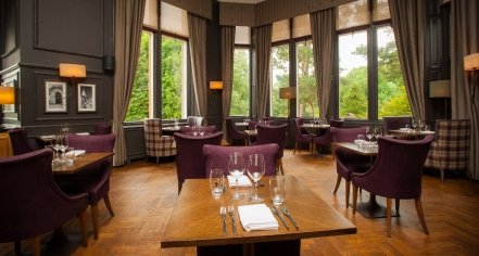 Dining at      DoubleTree by Hilton Hotel Dunblane Hydro  in Dunblane