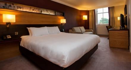 Accommodations:      DoubleTree by Hilton Hotel Dunblane Hydro  in Dunblane