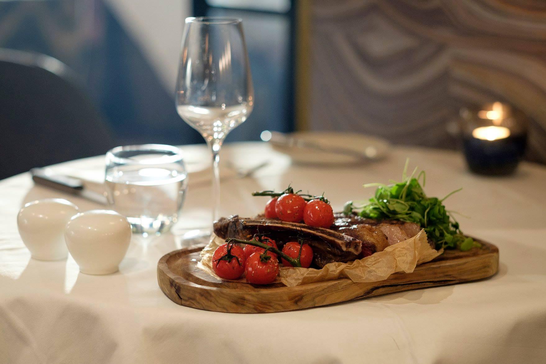 Image of Marco Pierre White Steakhouse Hilton Edinburgh Carlton Scotland United Kingdom, Dining