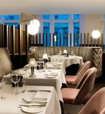 Dining at      Hilton Edinburgh Carlton  in Edinburgh