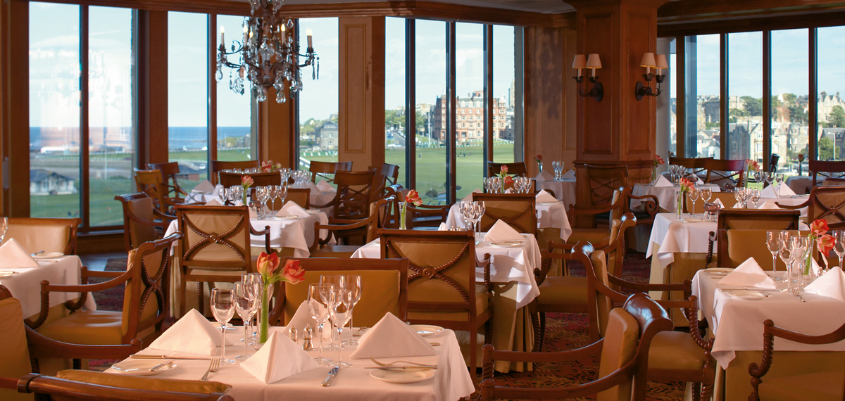 Dining:      Old Course Hotel, Golf Resort & Spa  in St Andrews