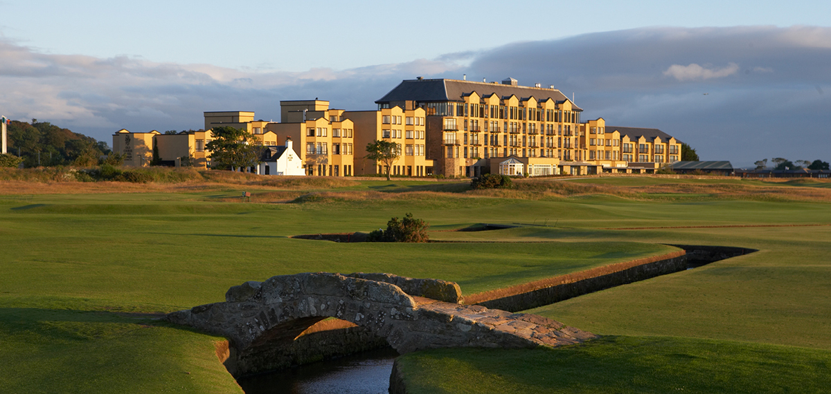 Old Course Hotel, Golf Resort & Spa, St Andrews, Scotland, Exterior