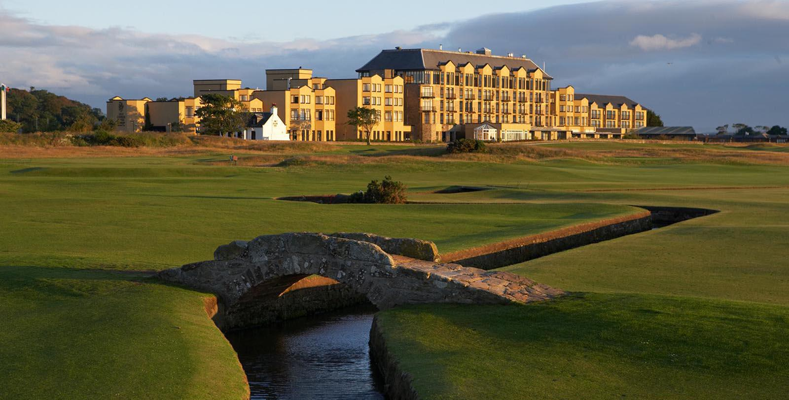 Image of Golf Course Old Course Hotel, Golf Resort & Spa, 15th Century, Member of Historic Hotels Worldwide, in St. Andrews, Scotland, Overview