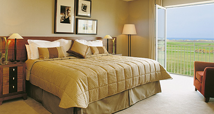 Accommodations:      Old Course Hotel, Golf Resort & Spa  in St Andrews