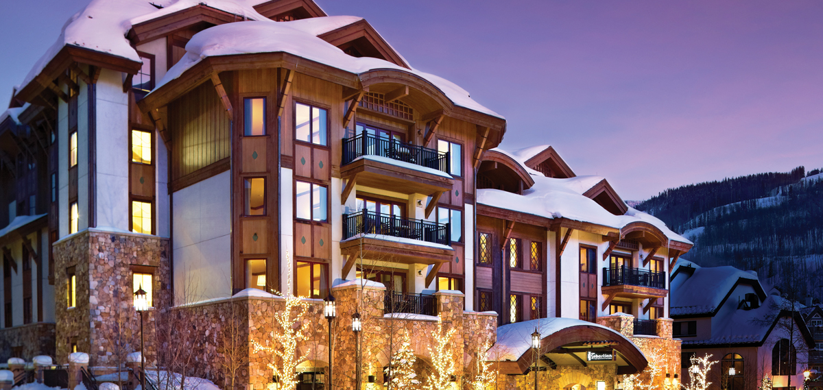 The Sebastian - Vail, Vail Colorado, Hotel Exterior