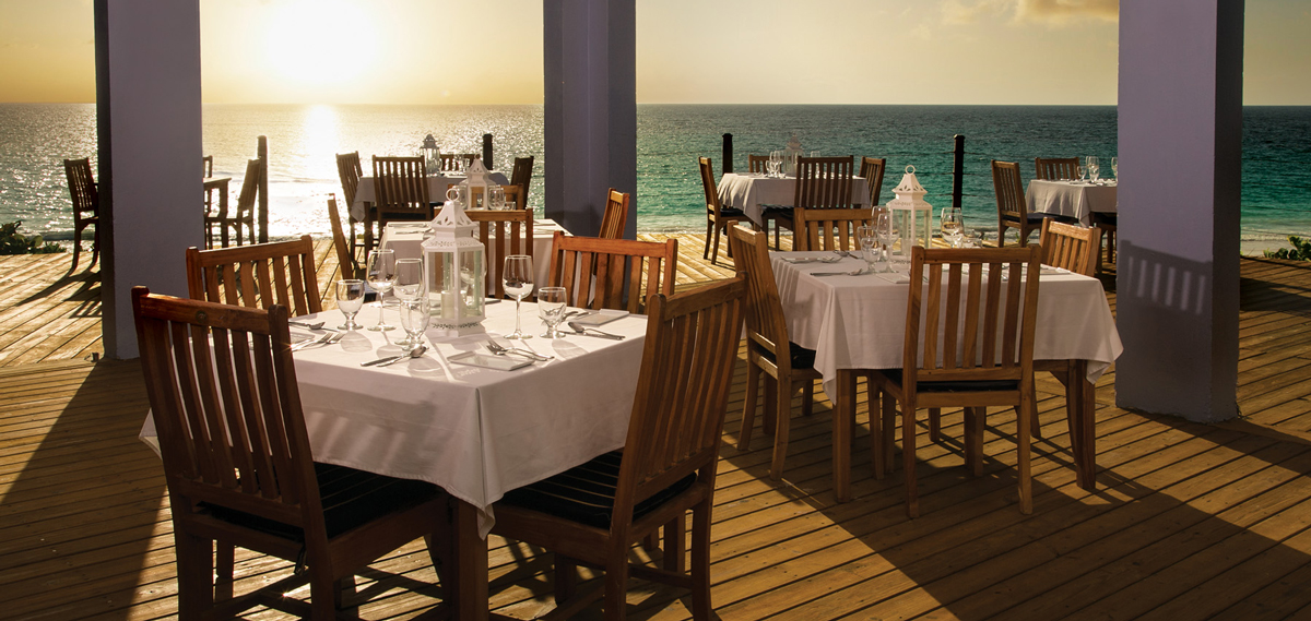 Dining:      Pink Sands Resort  in Harbour Island