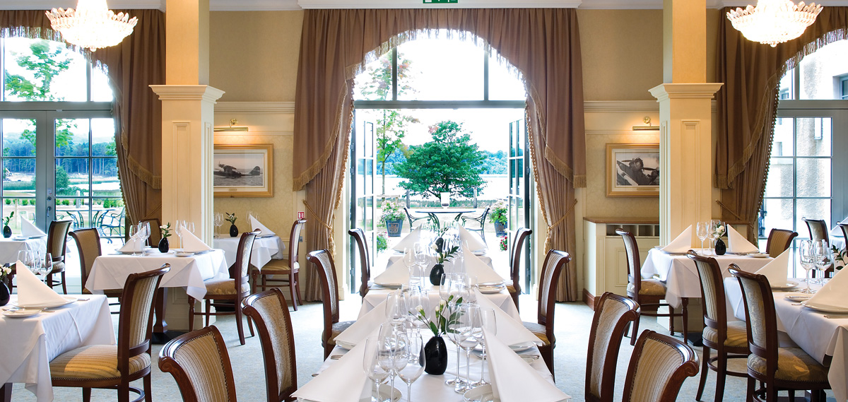 Dining:      Lough Erne Resort  in Enniskillen