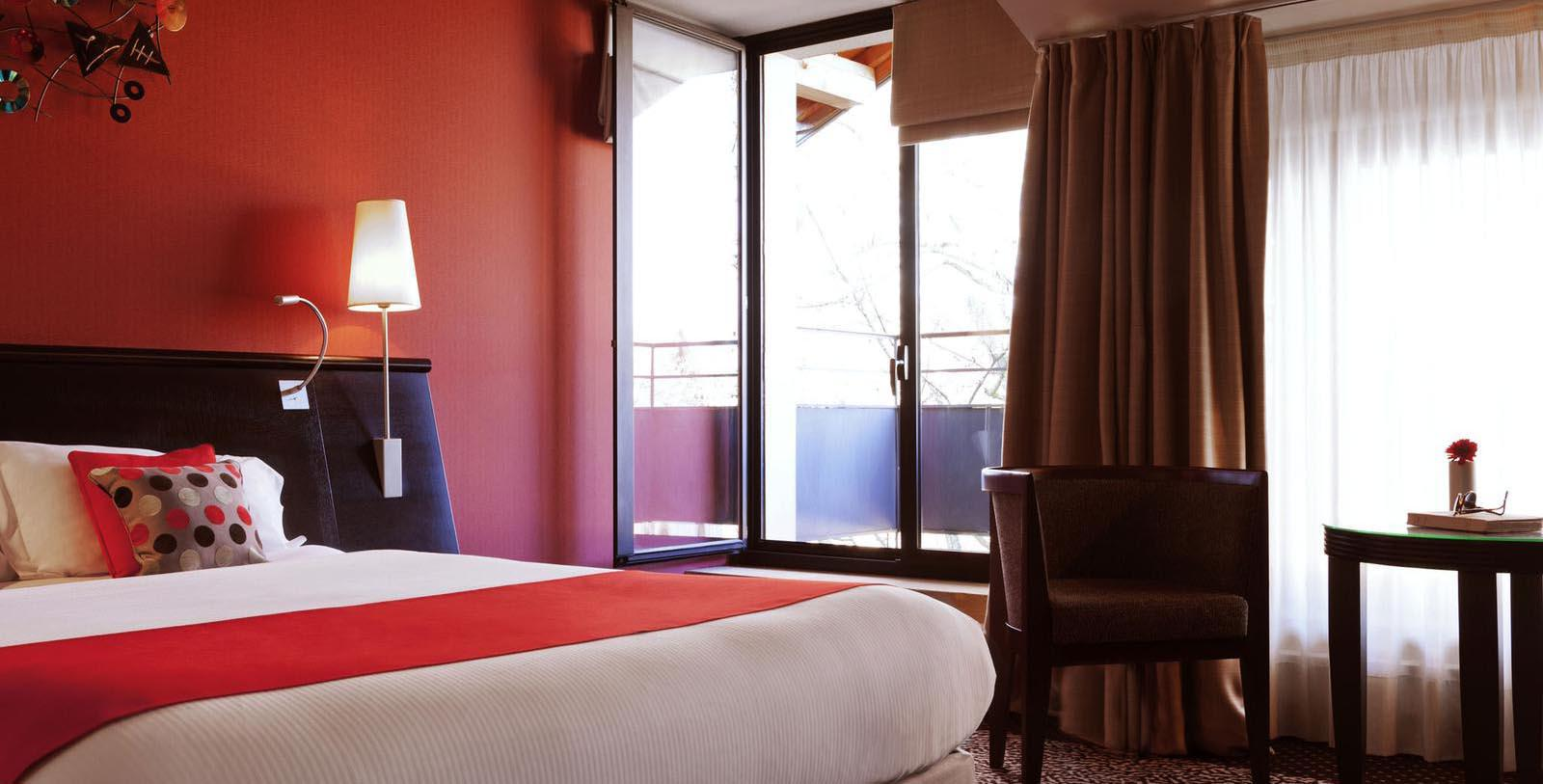 Image of Guestroom Interior, Hotel La Citadelle Metz - MGallery by Sofitel, Metz, France, 1559, Member of Historic Hotels Worldwide, Location Map