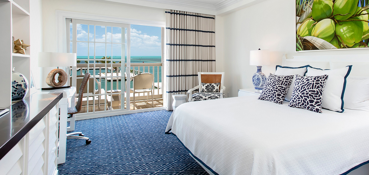 Accommodations at Oceans Edge Key West Resort & Marina