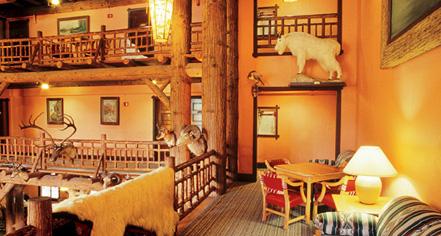 History:      Lake McDonald Lodge  in Glacier National Park