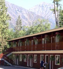 Lake McDonald Lodge  in Glacier National Park