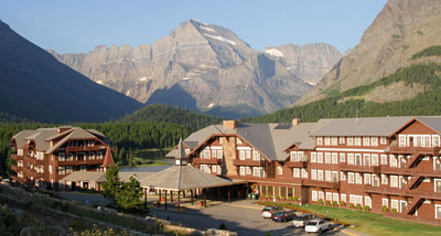 Dining At Many Glacier Hotel In Babb