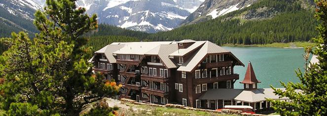History Many Glacier Hotel In Babb