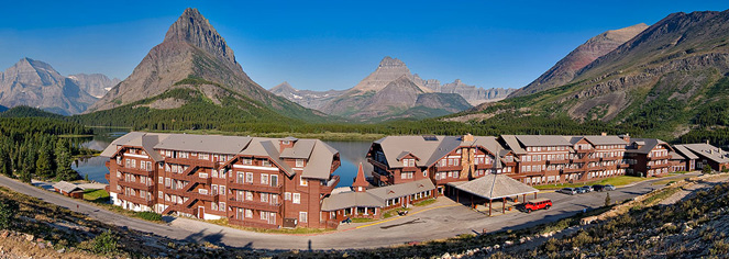 Many Glacier Hotel  in Babb