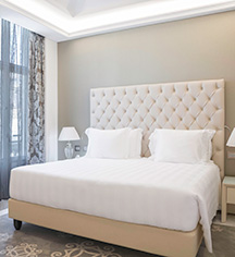 Accommodations:      Aleph Rome Hotel, Curio Collection by Hilton  in Rome