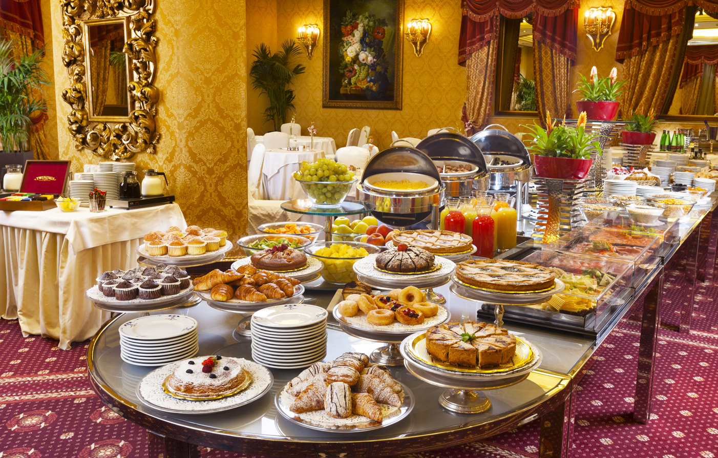 Rome hotel special offers parco dei principi grand hotel for Petit buffet salon