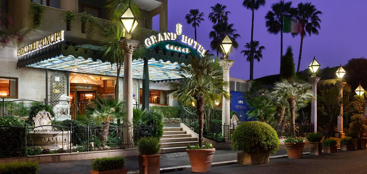 parco dei principi grand hotel spa five star rome hotel preferred hotels. Black Bedroom Furniture Sets. Home Design Ideas